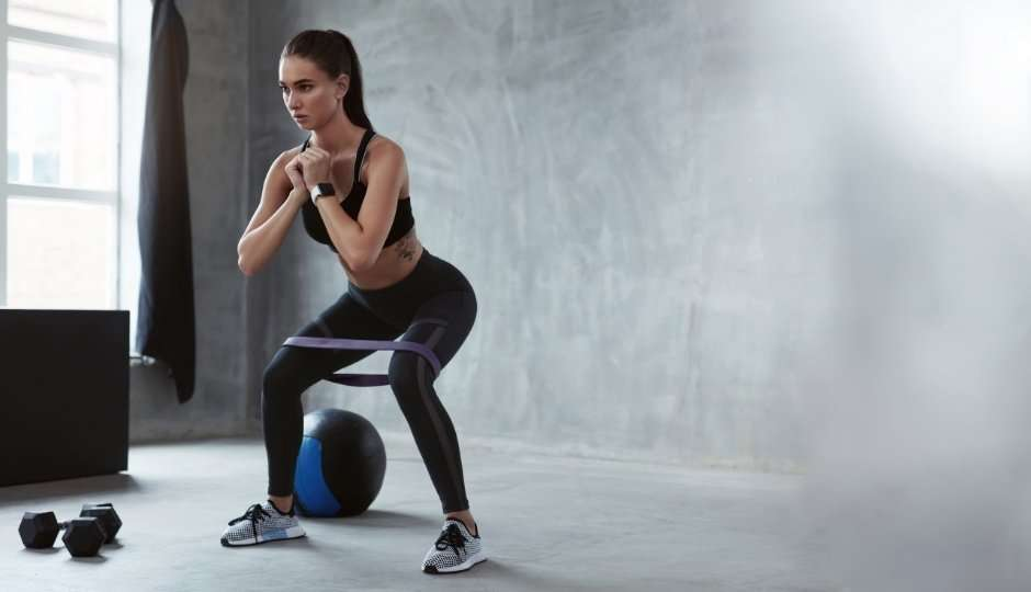you're not doing compound exercises